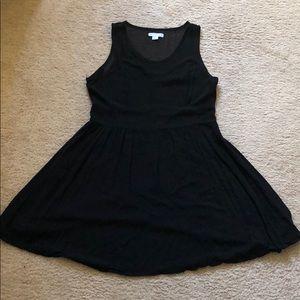 Black CottonOn Sheer Dress